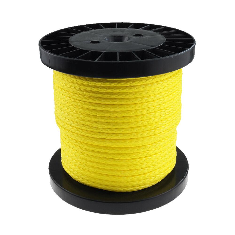 Dyneema PRO Rope Cord 3mm 100m yellow braided