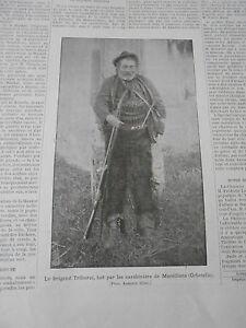 Bon CœUr Gravure 1896 Le Brigands Triburzi Tué Par Les Carabiniers De Marsiliana Une Grande VariéTé De Marchandises