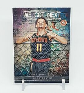 2018-19-Panini-NBA-Hoops-Trae-Young-We-Got-Next-RC-Rookie-WGN-5-Atlanta-Hawks