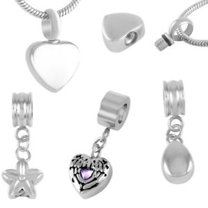 Image Is Loading Charm Cremation Jewellery Ash Memory Urn Bracelet Charms