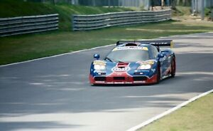 GULF-MCLAREN-FT-GTR-JAMES-WEAVER-RAY-BELLM-BPR-PHOTOGRAPH-BRANDS-HATCH-1996