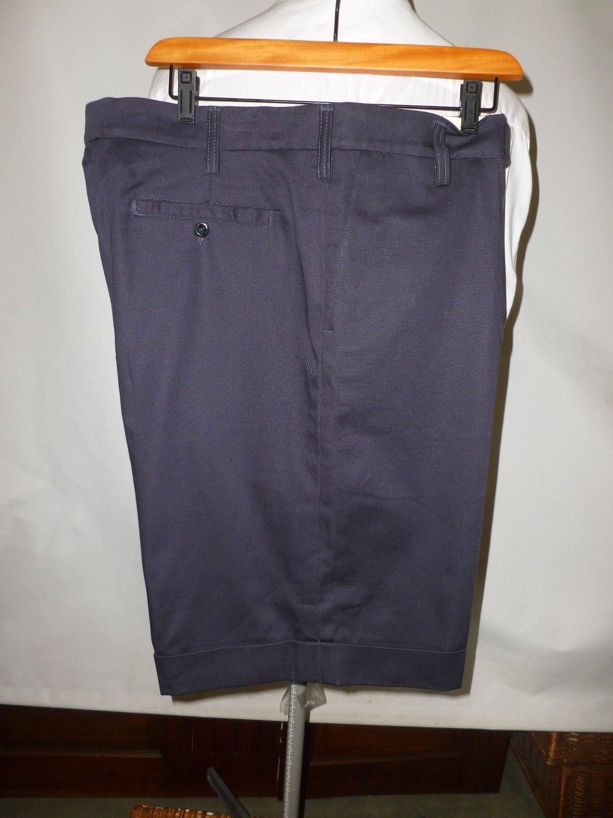 734c0cfef8ef Pakeman Catto   CARTER Blu Navy Cotone Pantaloncini Su Misura 42 Vita ---  NUOVO nntkbl4255-Shorts e bermuda