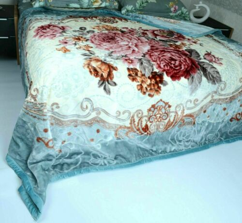 Cosy Blanket 200 x 230 CM Dual Layer Double Sided Blanket 2 ply 3 KG