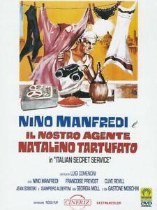 Italian-Secret-Service-il-Nostro-agente-Natalino-Tartufato-DVD-NEW-Nino-Manfredi