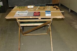 MILITARY PORTABLE PROFESSIONAL DRAFTING TABLE SET & ACCESSORIES | eBay