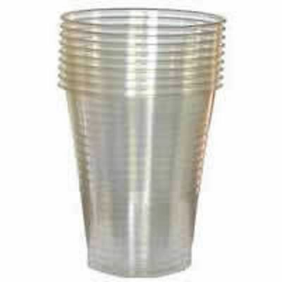 Clear Plastic 7oz Disposable Cups Drinking Water Coolers