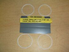 "NEW Lot of 4 Stanley Teflon Impeller 2"" O-Ring Seals 18-38300 *FREE SHIPPING*"