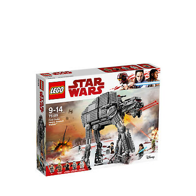 NEW Lego Star Wars First Order Heavy Assault Walker 75189