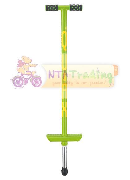 QuAx Hop Pole Pali di Salto Pogo Stick verde per Bambino fino a 20 kg nuovo