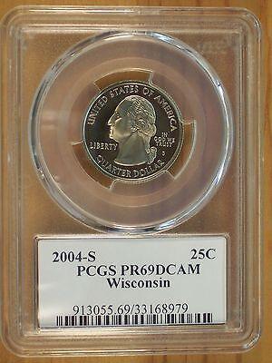 2004 S Silver State Quarter Set PCGS PR69DCAM