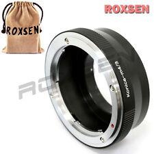 Roxsen Konica AR lens to Micro 4/3 mount adapter Olympus E-PL7 P5 Panasonic G6