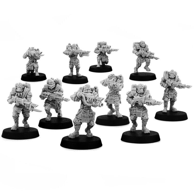10x soldados imperial muerto Perro Squad-warJuego exclusivo [puede ser guardias]