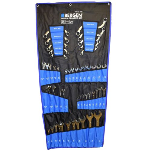 Metric Spanner Set Combination Ring Stubby S Type C type 50pc By Bergen
