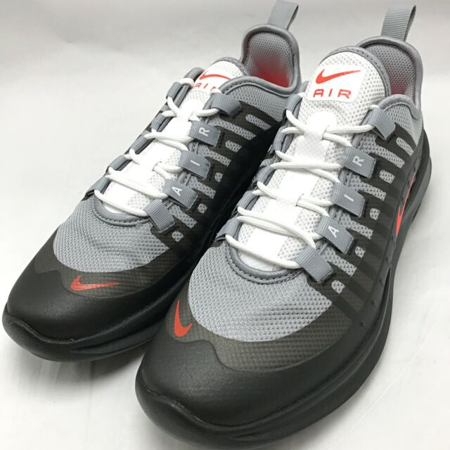 Nike Air Max AXIS (GS) Youth Running Shoes Wolf GreyCrimson Black AH5222 003