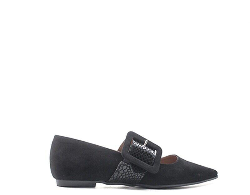 Schuhe PAPILLA Frau schwarz PITONE  7370-NERPIT