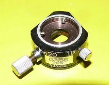 2 x adaptador espaciadores Olympus mplan 20, 1.1x y mplan 5, 1.1