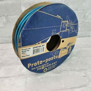 Proto-Pasta 3D Printing Filament Premium Metallic Teal HTPLA PLA 1.75mm 500g