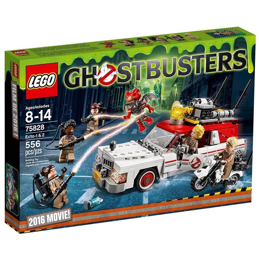 NEW LEGO 75828 Ghostbusters Ecto-1 & 2