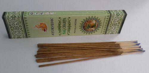 Ayurvedic Nag-Champa Masala Incense Sticks-15g//30g//45g//90g Free Ship from India