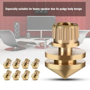8Pcs-Audio-Suspension-Nail-Float-speaker-Spikes-Stand-Base-Isolator-Feet-Pads