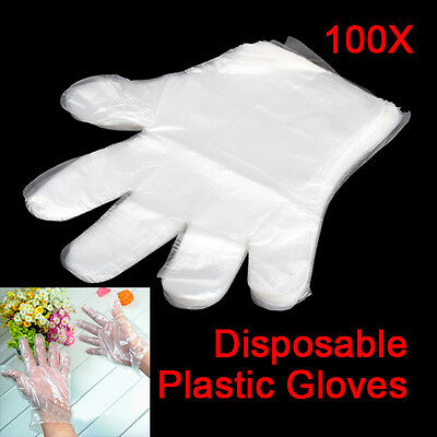 New Sanitary Disposable Gloves Home Kitchen Cook BBQ Restaurant Useful 100PCS