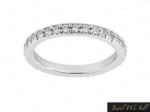0-70Ct-Round-Cut-Diamond-Pave-Set-Anniversary-Eternity-Band-Ring-10K-Gold-G-H-I1