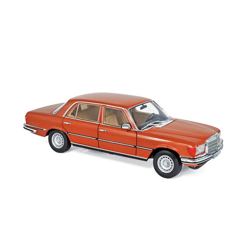 Norev 183459 Mercedes Benz 450 SEL 6.9 metallic orange 1976 Maßstab 1 18 NEU °