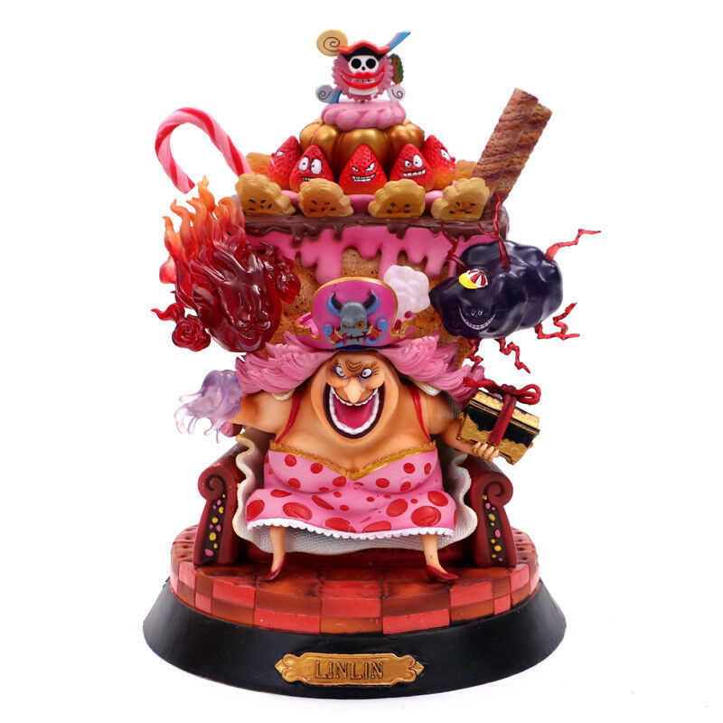 ONE PIECE - Charlotte Linlin cifra gree Mom cifra tamaño 24 cm Anime