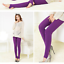 thumbnail 13 - Autumn-winter-fashion-brushed-leggings-multicolor-brushed-pants-warm-seamless