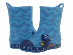 Crocs Bump It Finding Dory Ocean Blue Toddler Size Boot 203873-456