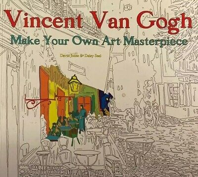 - Vincent Van Gogh Adult Coloring Book Make Your Own Masterpiece Art Therapy  NEW 9781786640499 EBay