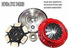 Stage 3 Performance Clutch Kit+HD Flywheel Fits Honda Civic D-series D15 D16 D17