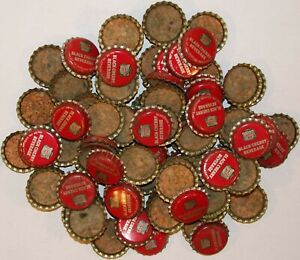 Soda pop bottle caps Lot of 12 CANADA DRY GINGER ALE cork lined new old stock