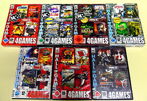 28 PC Giochi raccolta 4 Games Hall of Games Fire Department Bad Day la Shooter 3