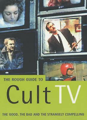 """""""VERY GOOD"""" The Rough Guide to Cult TV (Mini Rough Guides), Simpson, Paul, Book"""