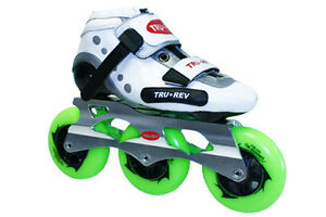 Inline-Skates TruRev Kids Inline Speed Skate Size 2.5