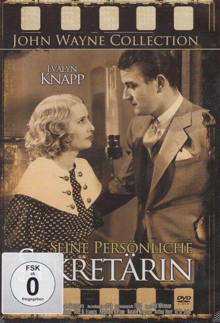 DVD NEU/OVP - Seine persönliche Sekretärin - John Wayne & Evalyn Knapp