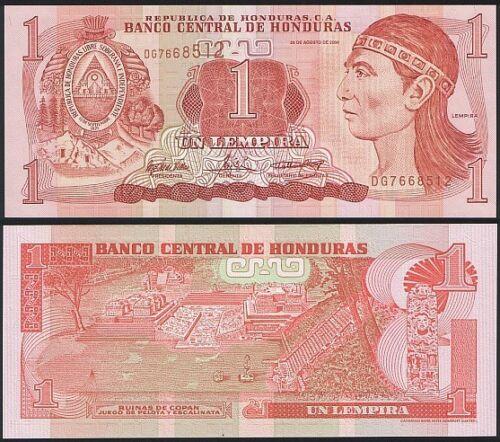 UNC Honduras P 84 d 1 Lempira 2004