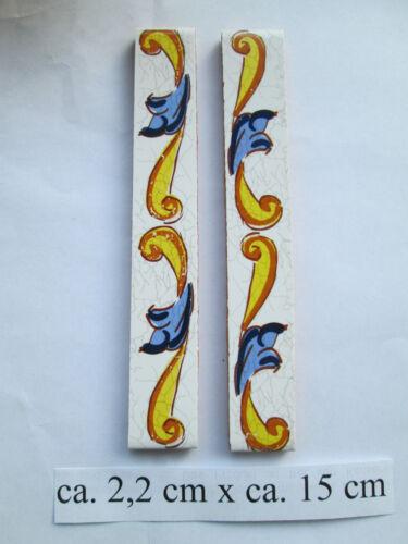 """Hausnummer Keramik  Nr 2   /"""" Pepe /""""  15 cm x 7,5 cm made in Spain"""