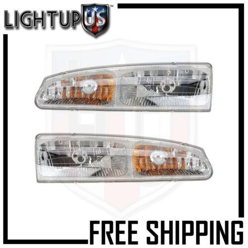 Headlight Headlamp Pair Left right set for 96-97 Ford Thunderbird Mercury Cougar