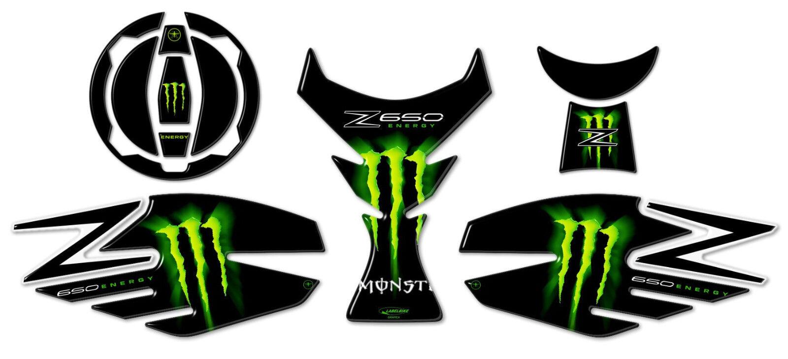 2 Stickers 3D Gel Tank Guard Compatible Motorcycle Kawasaki Versys 1000