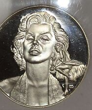 Marilyn Monroe Limited Edition 1926-1962 Coin 1 Troy Oz .999 Fine Silver Round