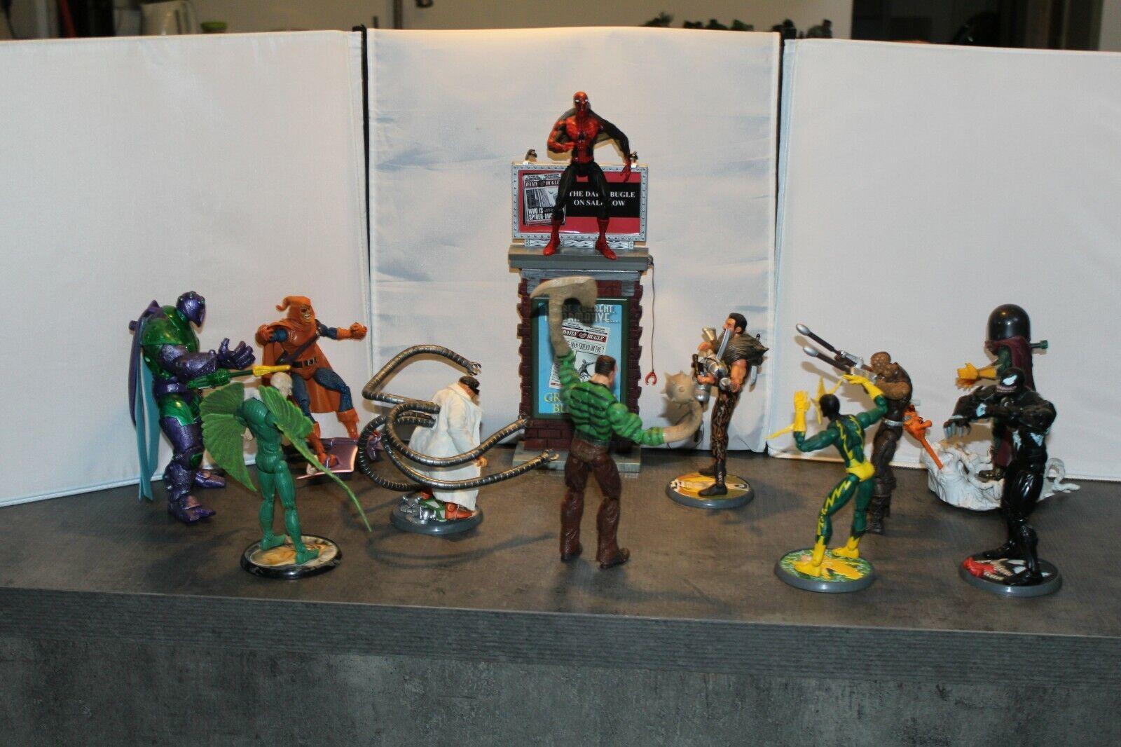Spideruomo, MYSTERIO, DOC OCCA, avvoltoio, Kraven, electro, Seuomo, Venom, Shocker