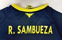 Aguilas Del America Official Licensed Rhinox Jersey R.sambueza 14 O.peralta 24