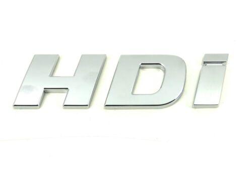 HDI Crew Van Minibus Genuine New PEUGEOT HDI porte badge emblème Boxer 3 III 2006