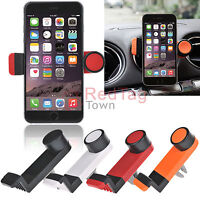 Rotating Car Air Vent Holder Mount for iPhone 6 6 Plus Samsung S6 S5 LG G4 G3