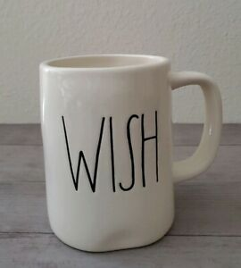 NEW-Rae-Dunn-by-Magenta-WISH-Coffee-Tea-Mug-Farmhouse-Home-Decor
