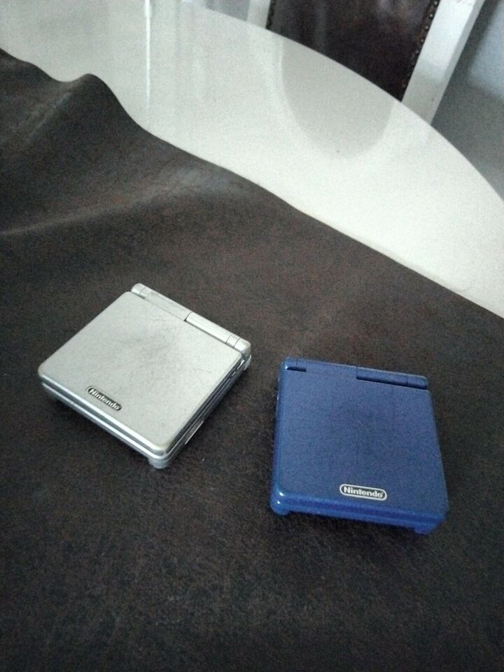 Nintendo Gameboy advance SP, AGS-001, God