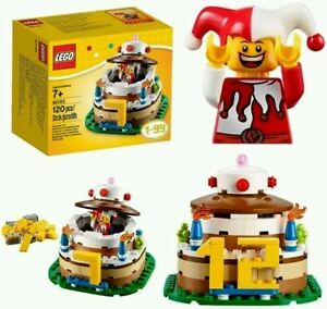 Image Is Loading LEGO HOLIDAY 40153 BIRTHDAY TABLE DECORATION Birthday Cake