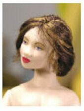 1:12 scale Miniature Doll Tutorial-Pattern-Instructions Wig//Hair only for Milly